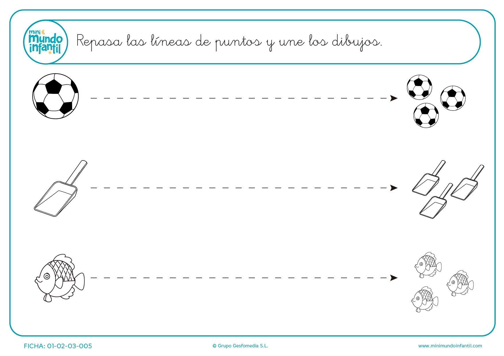 Fichas De Gramotricidad Con Trazos Mundo Primaria Fichas Figuras Geometricas Para Preescolar Hojas De Trabajo Preescolar