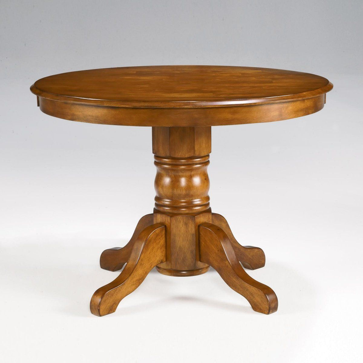 Black Friday 2014 Home Styles Round Dining Table With Pedestal Base Cottage Oak Finish From Homestyles Cyber Monday
