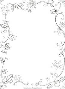 Beautiful Border For Adults Coloring Pages Bing Images Cornici