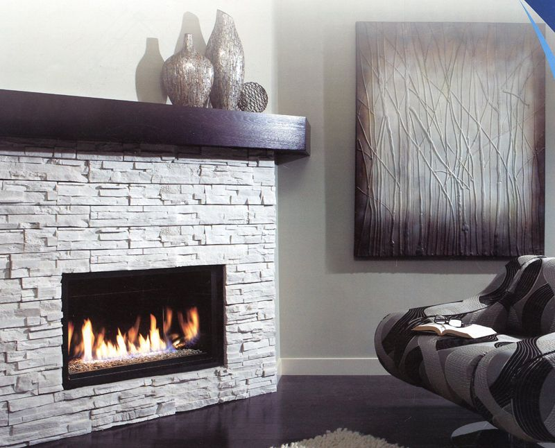 ZDVRB3622 Linear Gas Fireplace by Kingsman Industries with ...