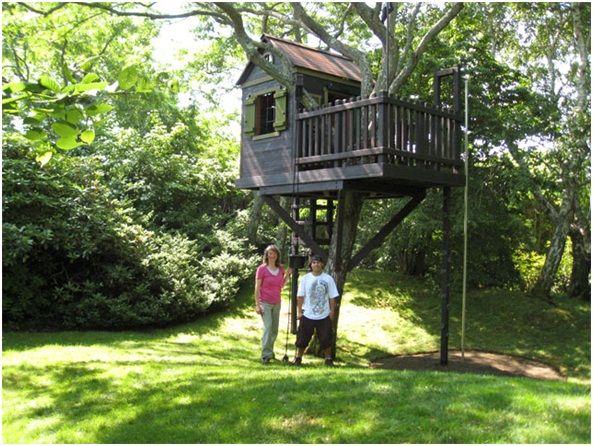 Simple Tree Houses casa en un arbol para niños - buscar con google | casas de Árbol