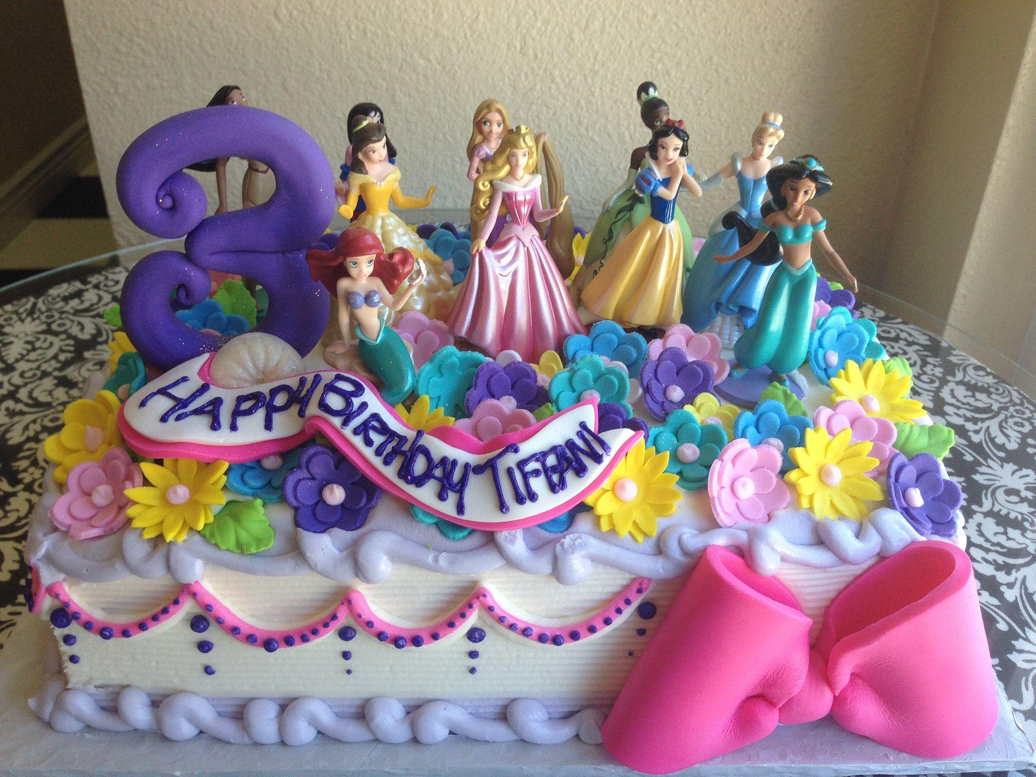 Princesses Disney Princess Birthday Party Princess Party Cake