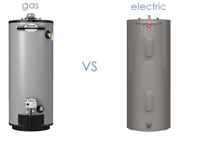 Comparing Gas And Electric Water Heaters Electric Water Heater Water Heater Gas Water Heater