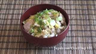 japanese don recipe - YouTube