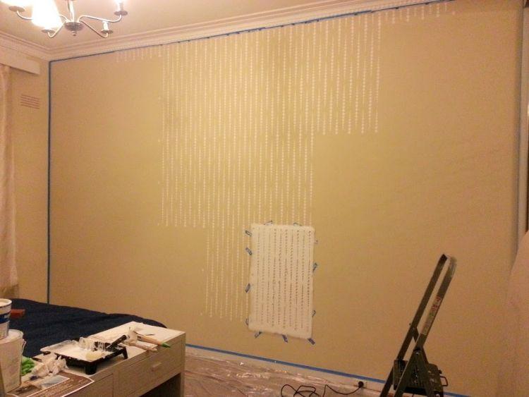 37 Wand Ideen zum Selbermachen \u2013 das Schlafzimmer streichen