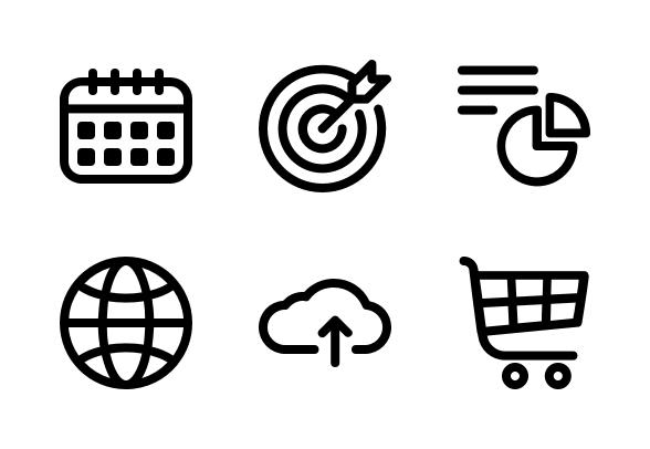Digital Marketing Icons By Ali Burhan Marketing Icon Digital Marketing Infographic Marketing