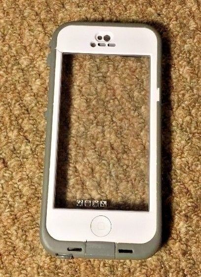 Lifeproof Iphone 5s Case White Clear Back Protector No Screen  #LifeProof