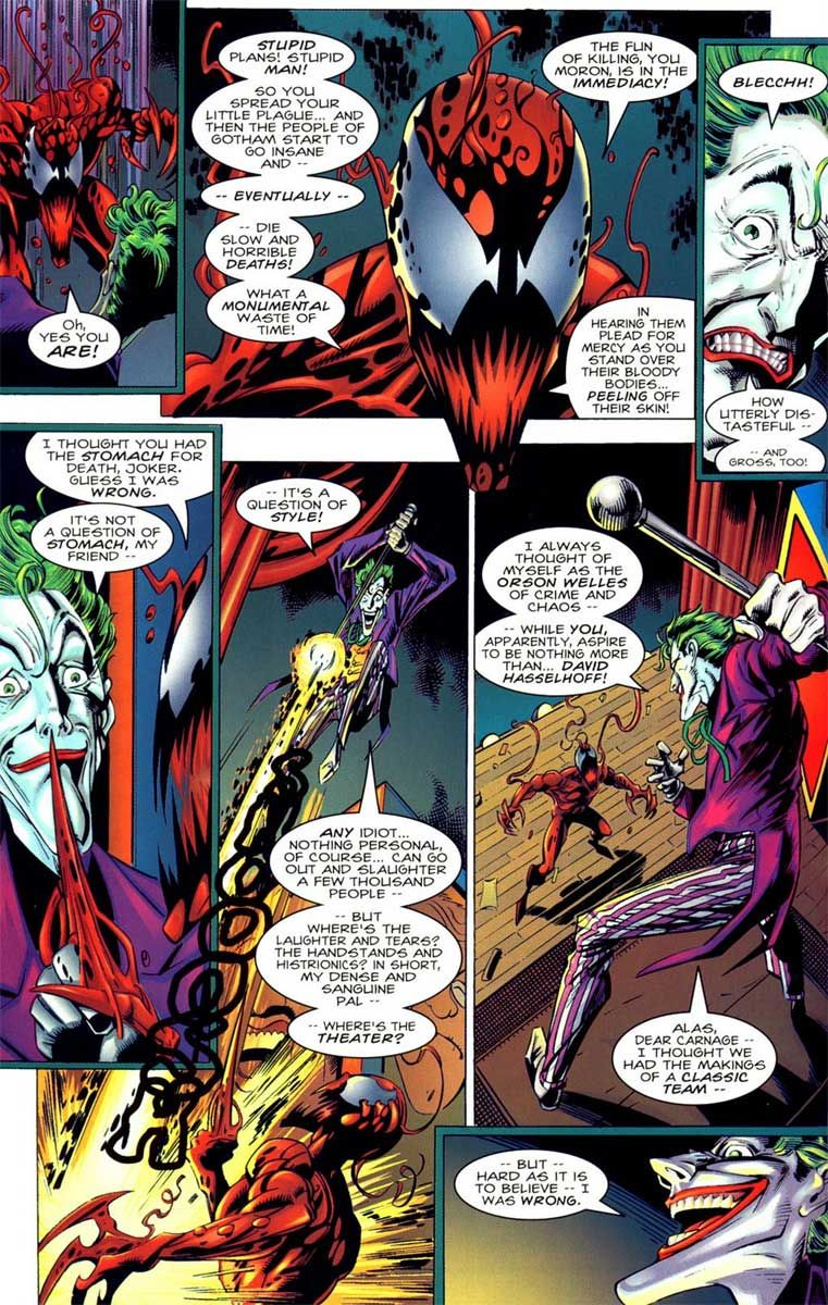 Carnage Vs Joker : carnage, joker, Nothing, Found, Video, Joker, Carnage, Marvel,, Symbiotes