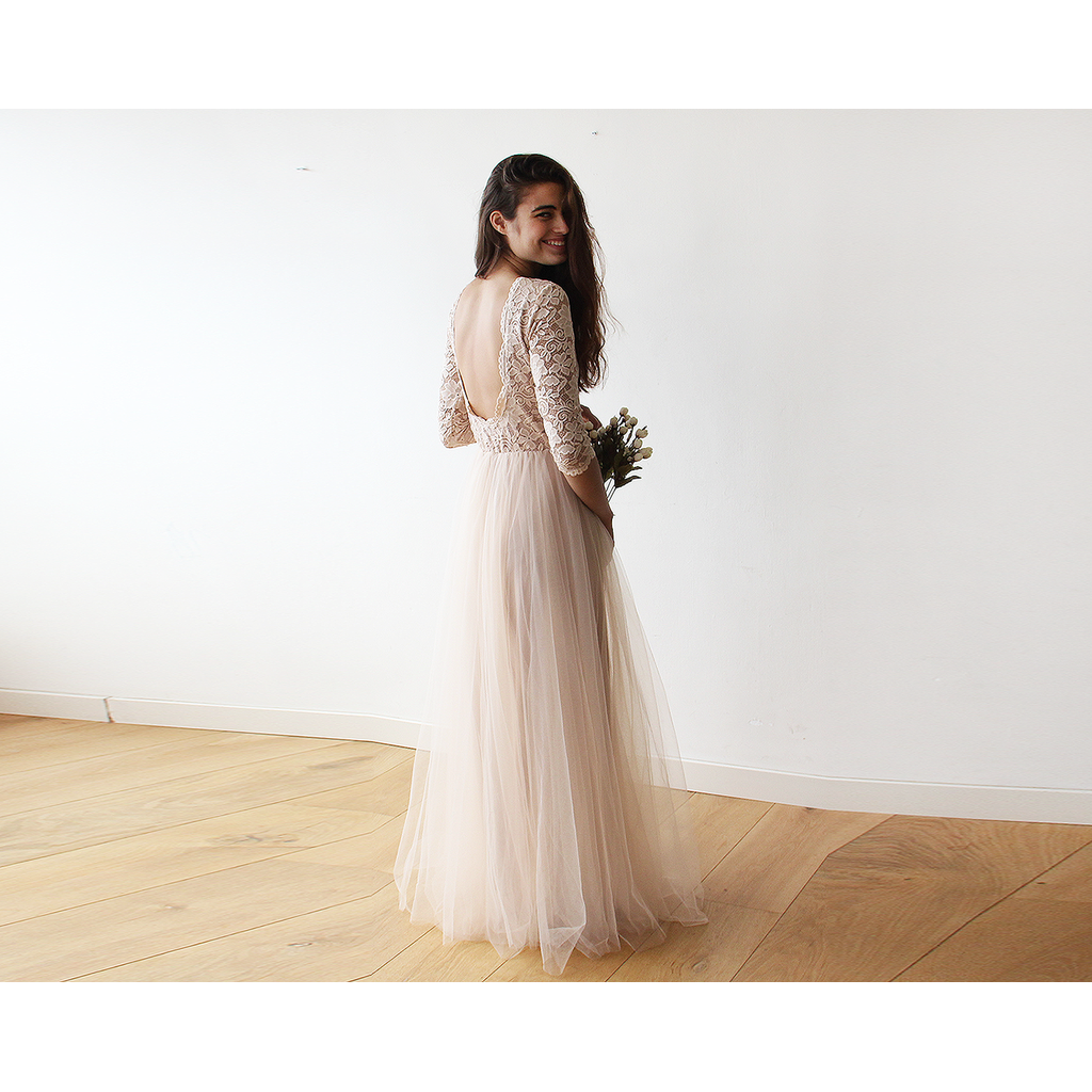 Pink tulle and lace maxi gown be relevant now pinterest