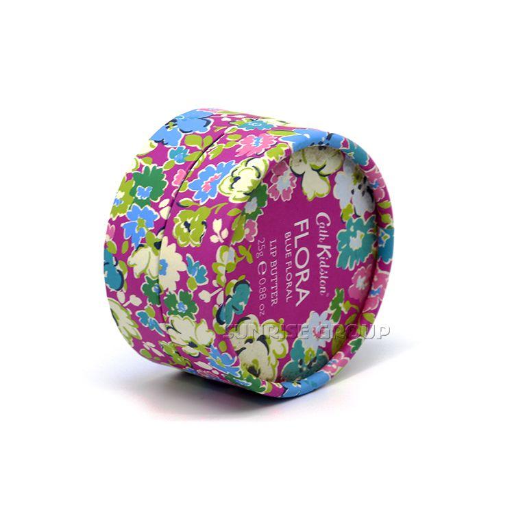 Custom small size round flower gift packing box
