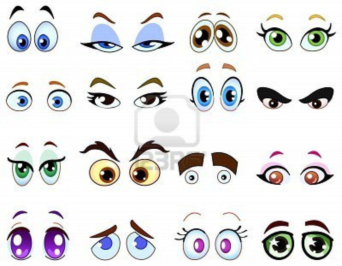Imagenes De Dibujos De Ojos Con Imagenes Ojos De Caricatura