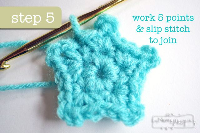 Crochet Mini Star Applique Free Pattern Baby Baby Pinterest