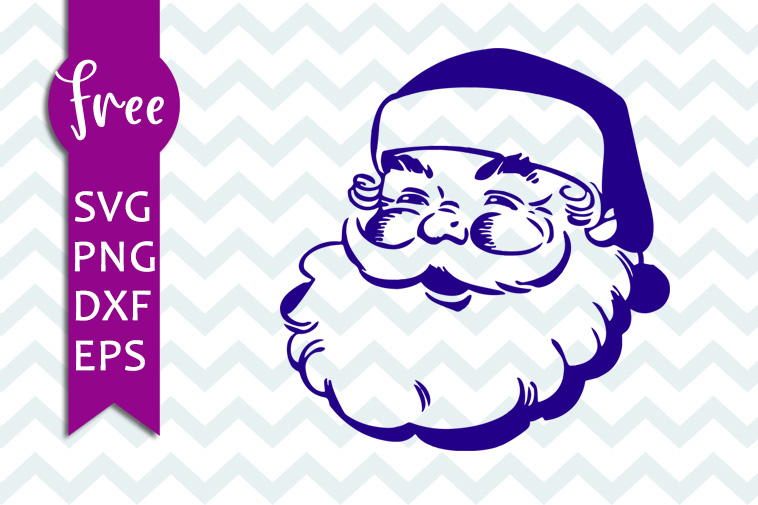 Santa svg free, christmas svg, father christmas svg