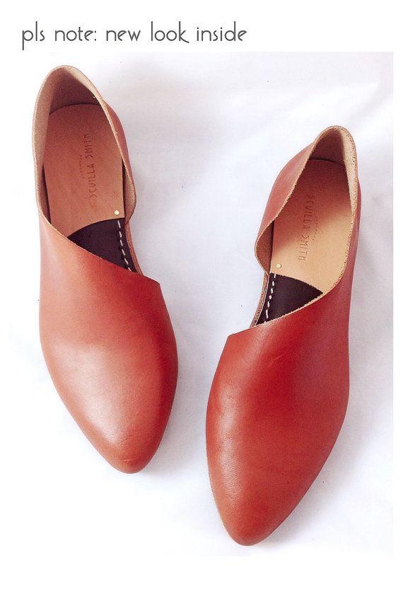 oooooh! The Sandy MVT Handmade to Order  Mahogany Leather by SevillaSmith