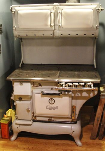 Restored Vintage Electric Stoves ~ Antique bridge beach superior eureka gas coal and wood