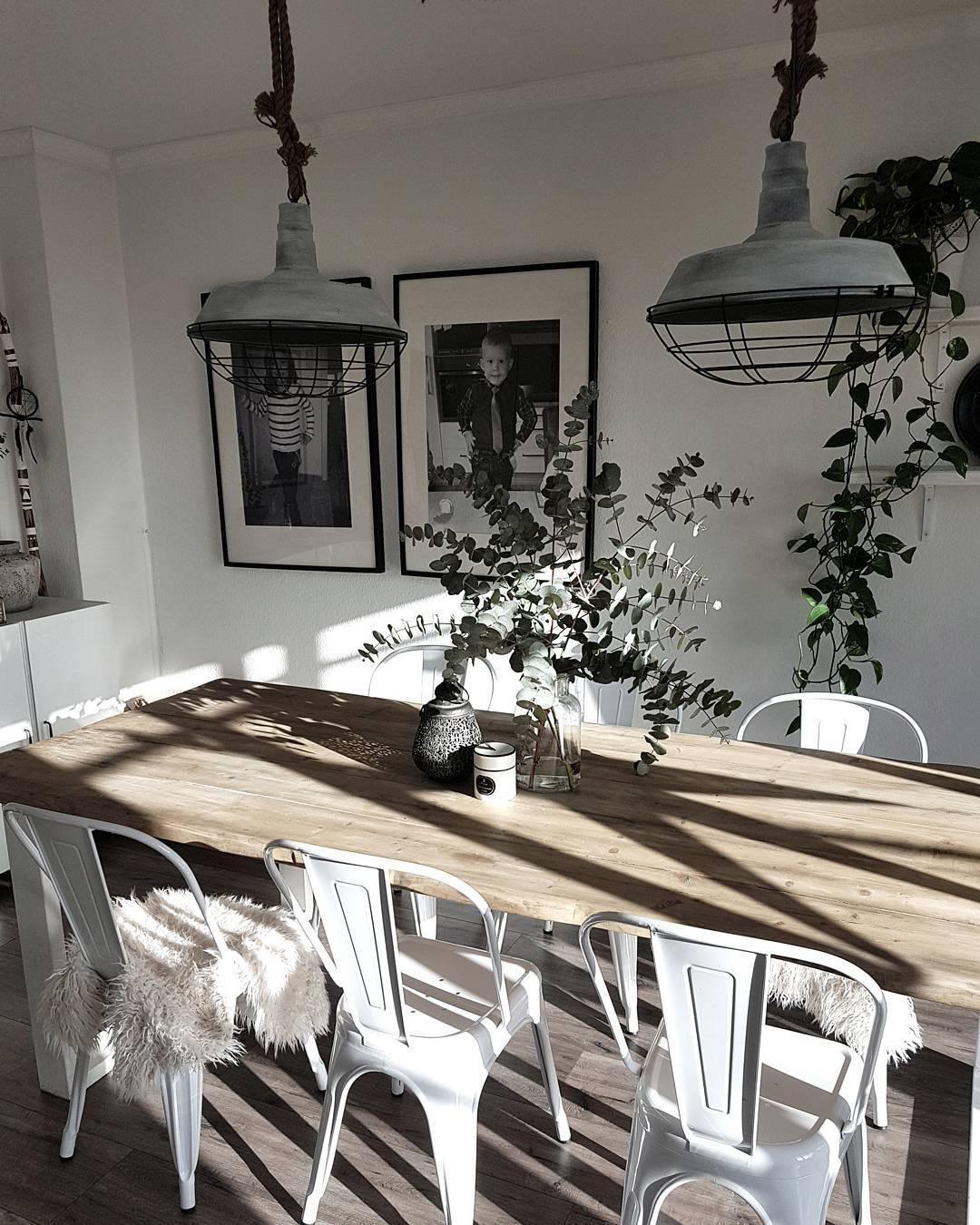 easy industrial im esszimmer mit den angesagten metallst hlen im vintage stil bringt ihr. Black Bedroom Furniture Sets. Home Design Ideas