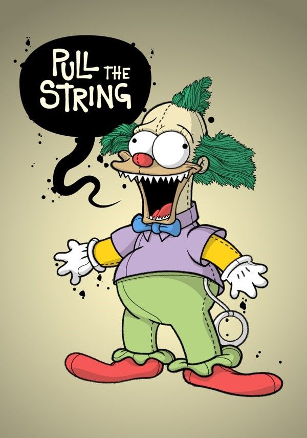 Krusty the clown family guy and the simpsons simpsons - Clown simpson ...