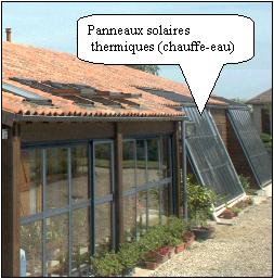 panneaux solaires thermiques maison autonome solaire panneau solaire thermique et panneau. Black Bedroom Furniture Sets. Home Design Ideas