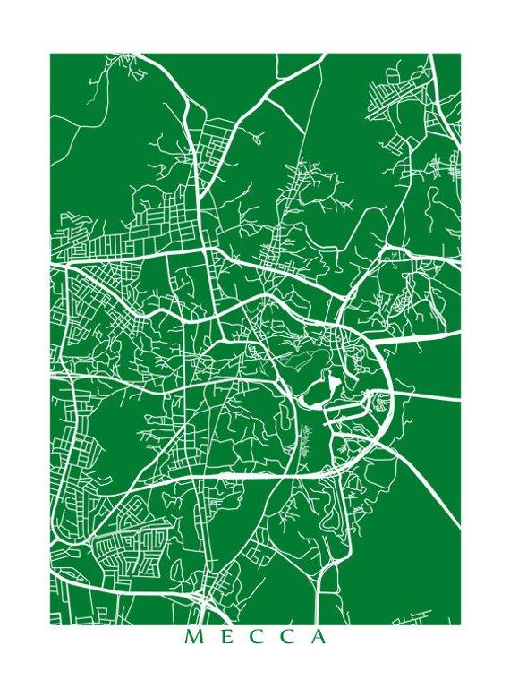 Mecca Map | Products | Mecca map, Poster prints, Map art on masjid al-haram, aden map, red sea map, arabian peninsula map, saudi arabia, jerusalem map, mesopotamia map, mediterranean sea map, damascus on map, arabian peninsula, japan map, saudi arabia map, medina map, black stone, world map, middle east map, dome of the rock, strait of hormuz map, baghdad map, iraq map, sinai peninsula map, india map, israel map, makkah map, persian gulf map,