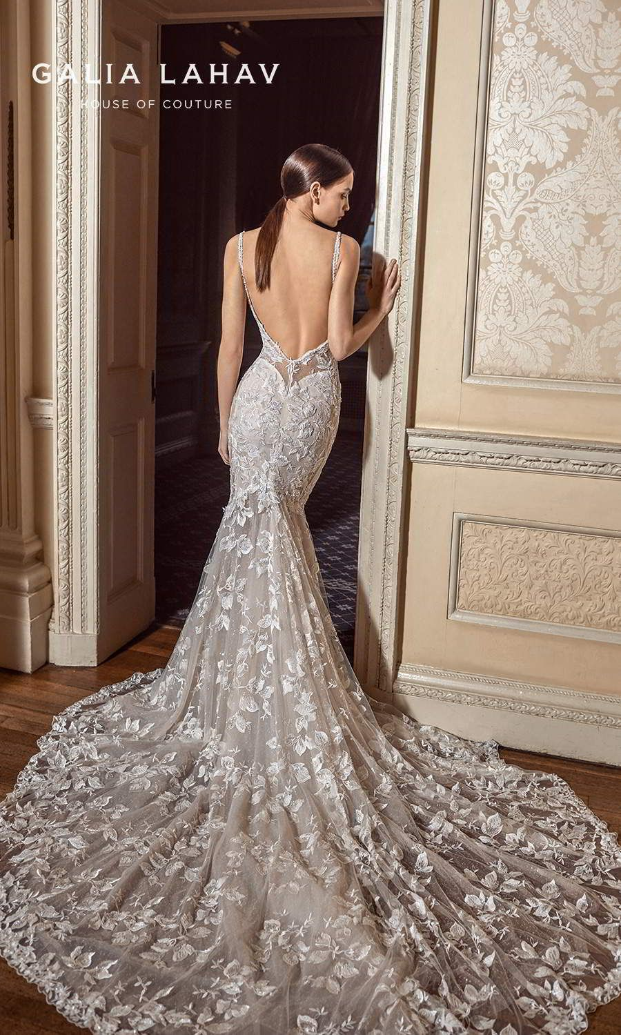 These Galia Lahav Wedding Dresses Are Made For Dancing Fall 2021 Couture Bridal Collection Wedding Inspirasi In 2021 Galia Lahav Wedding Dress Bridal Gowns Mermaid Backless Wedding Dress [ 1500 x 900 Pixel ]