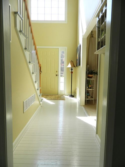re-do hardwood floors with paint PPG Breakthrough | just smart ideas ...