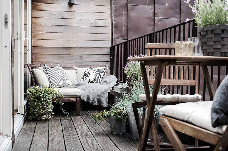 33 Incredibly inspiring Scandinavian style outdoor balcony ideas    Source link #balcony #ideas #INCREDIBLY #inspiring #Outdoor #scandinavian #Style