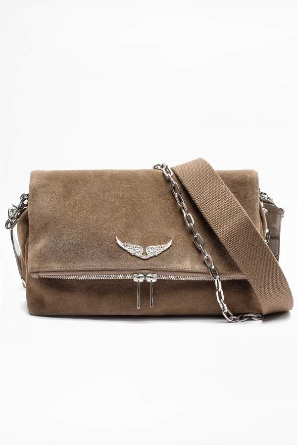 Zadig Voltaire Rocky Suede Bag Bag Bags Handbags Shoulderbag Bolsa Handle Style Fashion Affiliate Mystyle Womensfas Suede Bags Popular Purses Bags