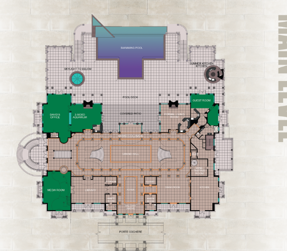 Here Are The Floor Plans To The 90 000 Square Foot Versailles Mega Mansion Located In Windermere Fl Floor Plans Versailles Florida Mansion