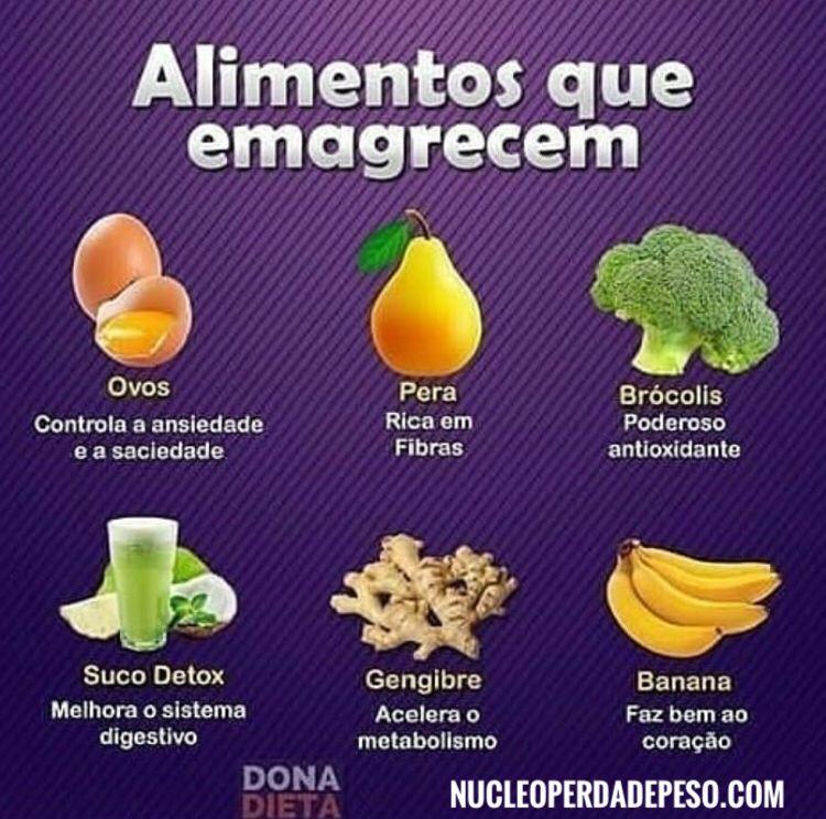 Alguns Dos Alimentos Tops Que Ajudam A Emagrecer Com Imagens