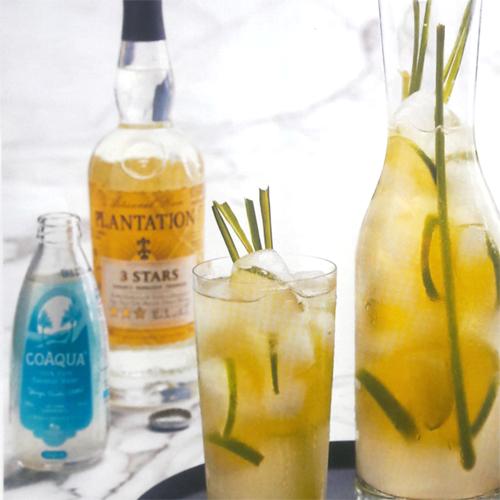CoAqua, Lemongrass & Rum cooler Rum cooler, Summertime
