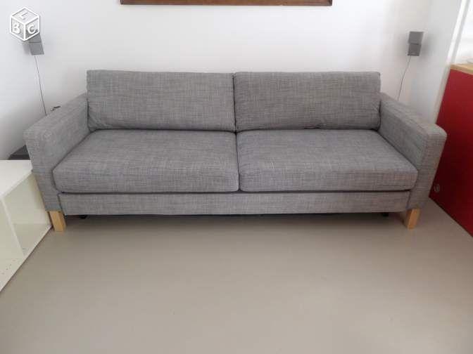 Canape KARLSTAD Convertible IKEA Places Ameublement Yvelines - Canapé 3 places pour chambre a coucher deco