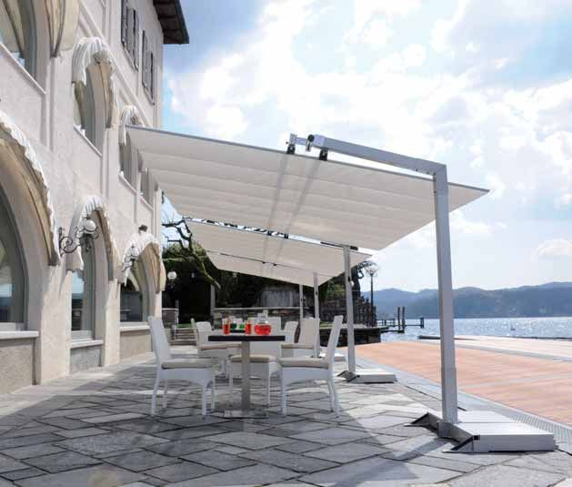 A Retractable Canopy Or Patio Cover Is The Sun Shade