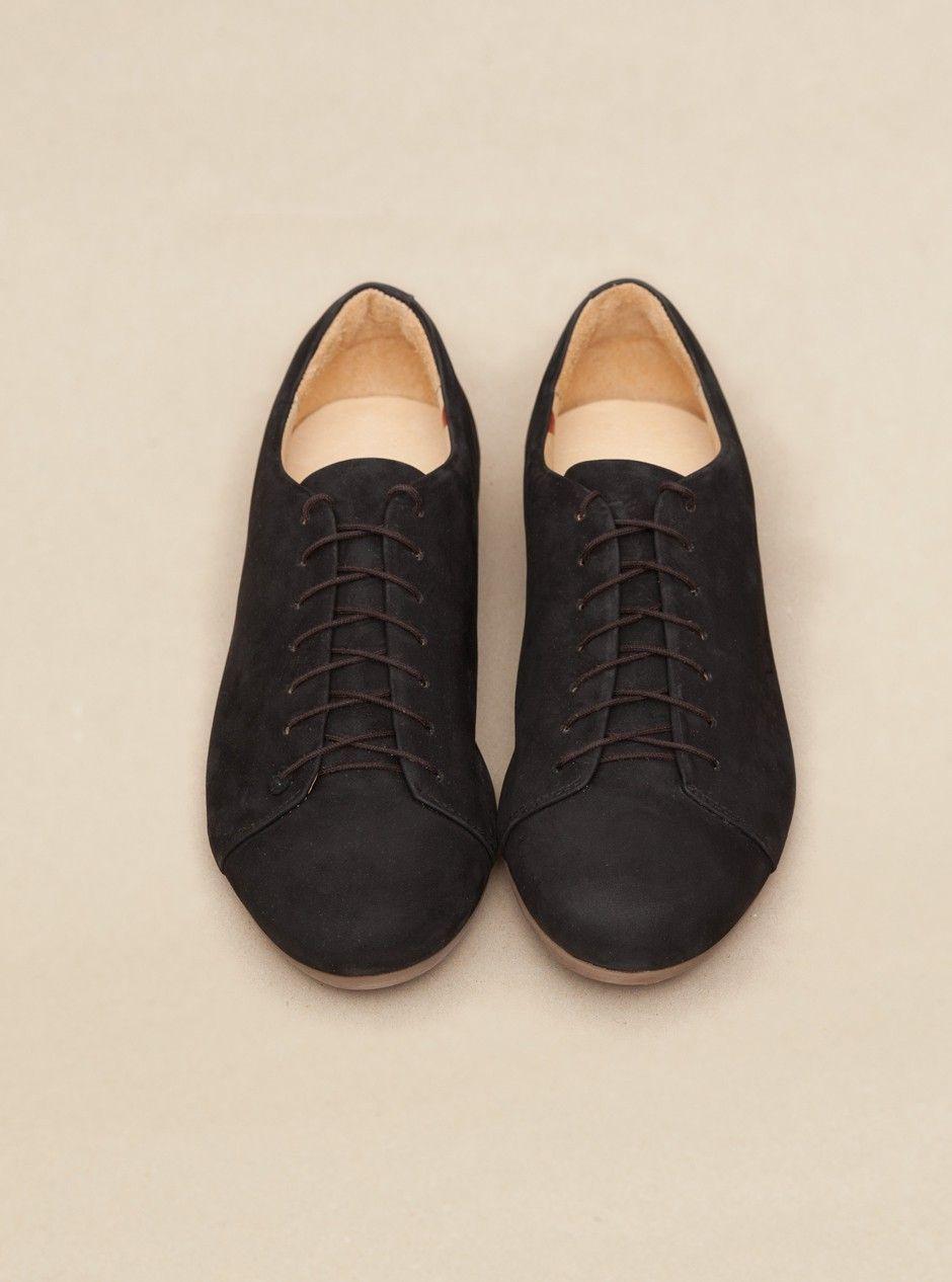 ATHEIST Awfully Black Black (ICH BIN sole) Shoes