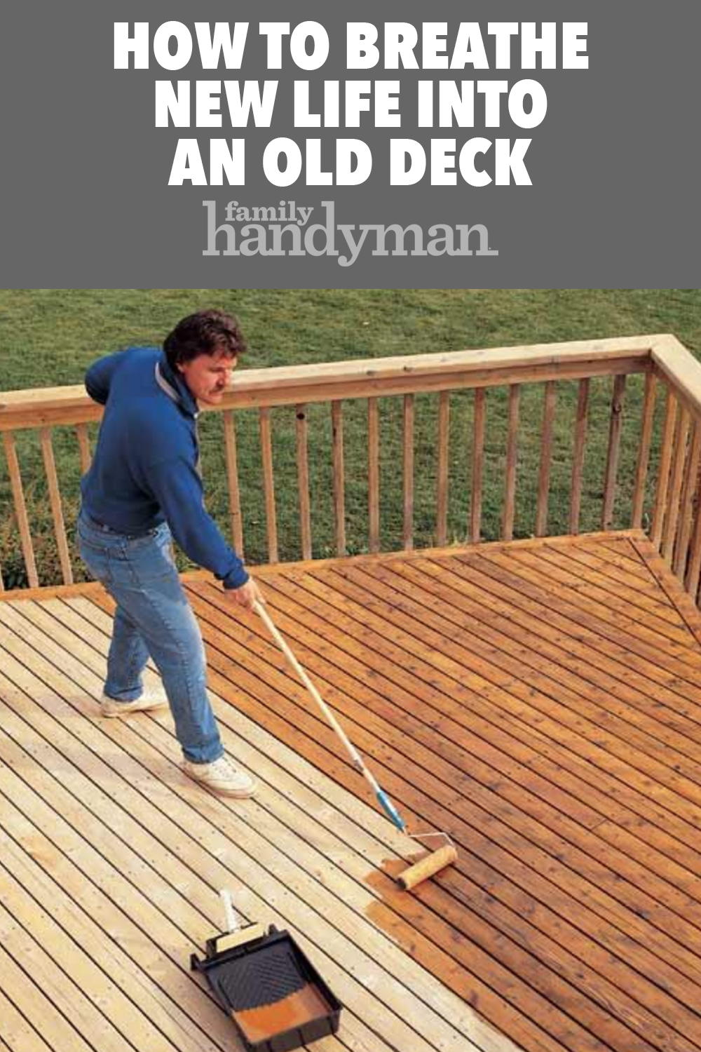 How To Revive A Deck Deck Deck Cleaning Deck With Pergola