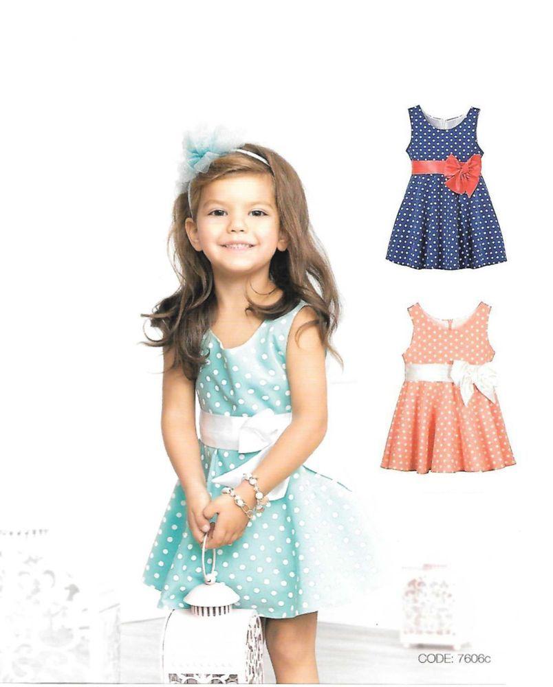 aa8b31d7744287 Fest-kleid für Kinder Abend Hochzeit Taufe Blumen-Mädchen Gr.98-128 | eBay