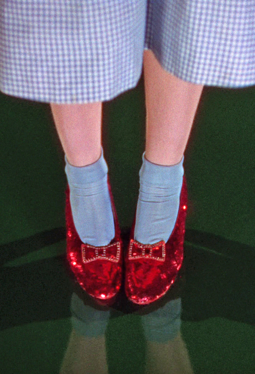 Dorothy S Ruby Slippers The Wizard Of Oz 1939