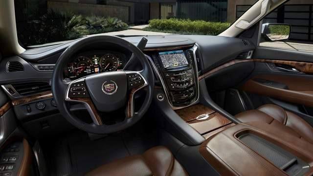 2016 Cadillac Escalade Ext Interior Planes Trains Automobiles