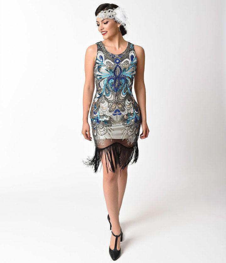 Colorful Flapper Dresses
