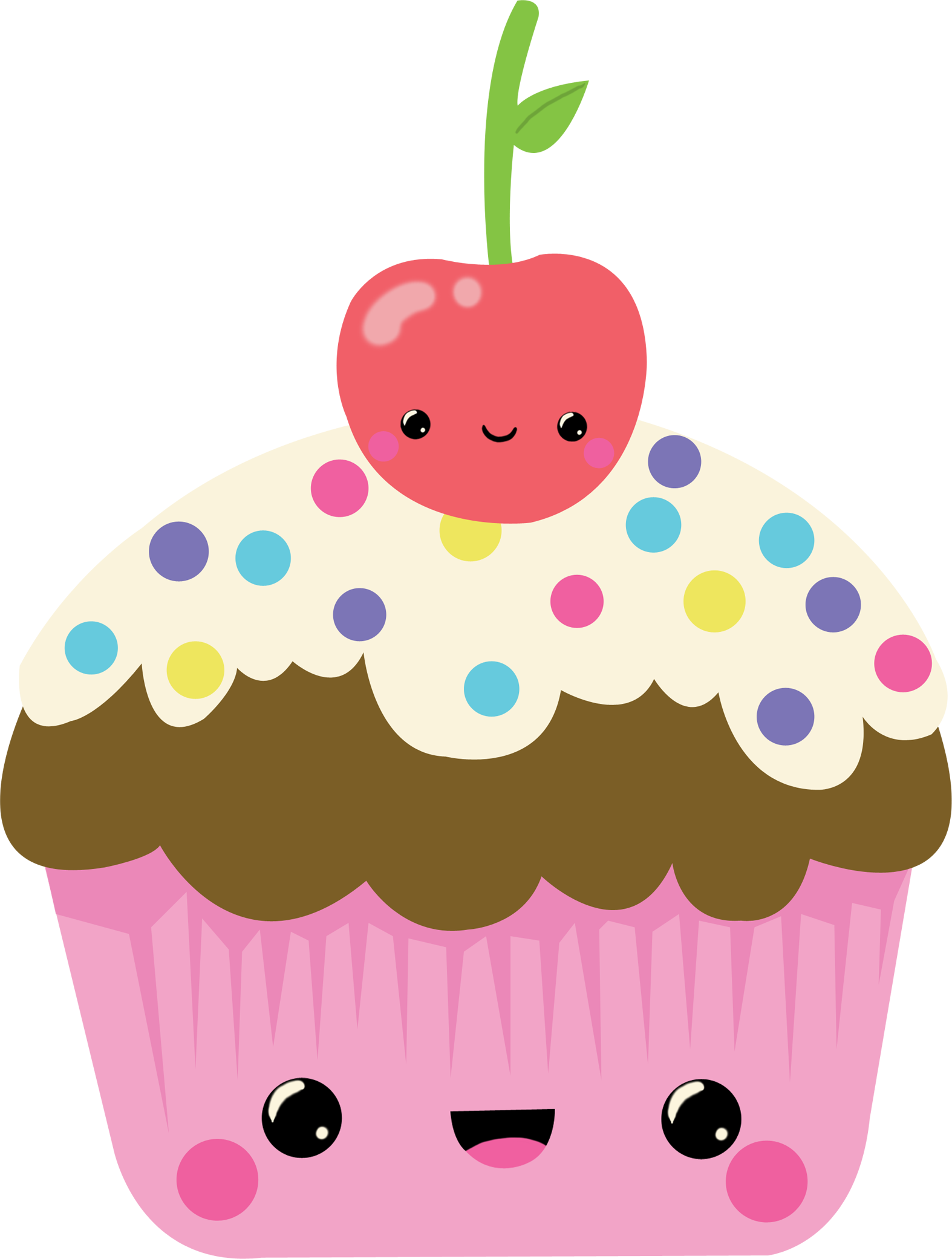 Image Result For Kawaii Cupcake Arte Gráfica