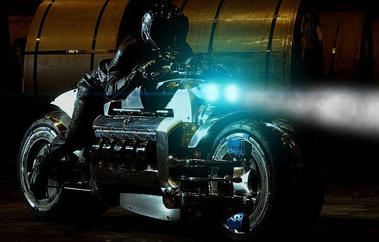 The Dodge Tomahawk 2003 Is The Fastest Non Rocket Propelled