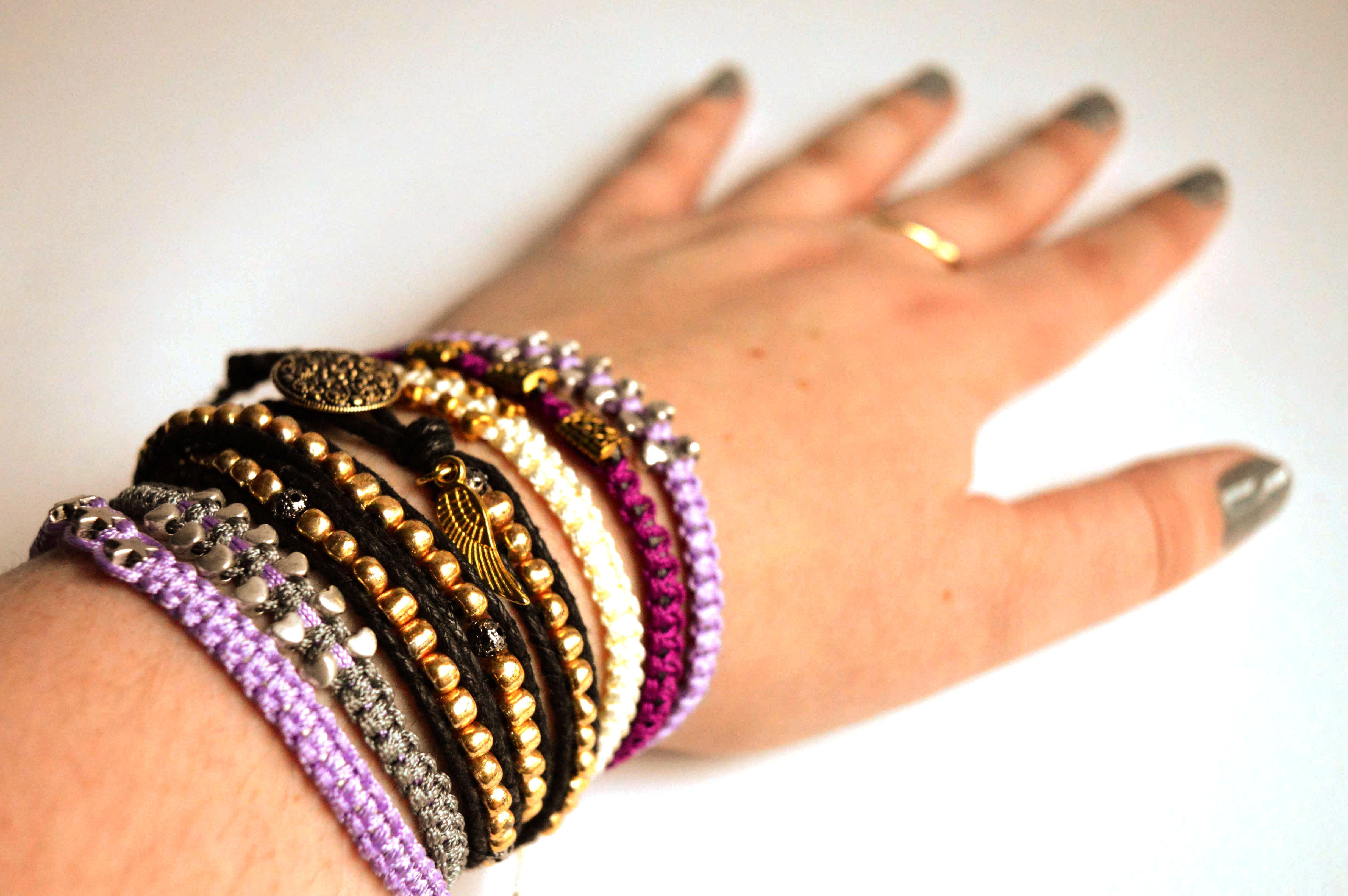 Bracelet stack from: https://www.etsy.com/uk/shop/JewellerybyRej?ref=hdr_shop_menu