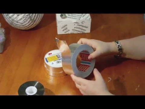 diy anleitung metal tape art alu tape werkzeuge und. Black Bedroom Furniture Sets. Home Design Ideas