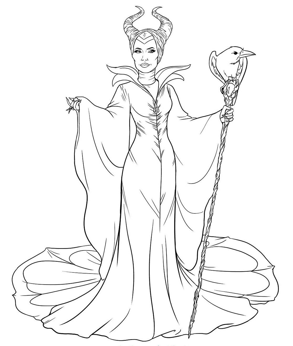 Maleficent Colouring Sheets Fairy Coloring Pages Sleeping Beauty Coloring Pages Cartoon Coloring Pages