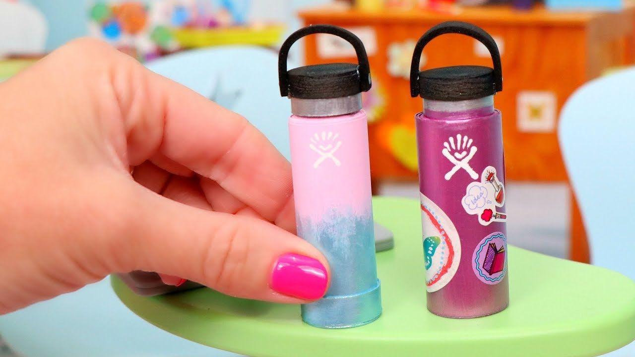 DIY Miniature Hydro Flask for VSCO Girls