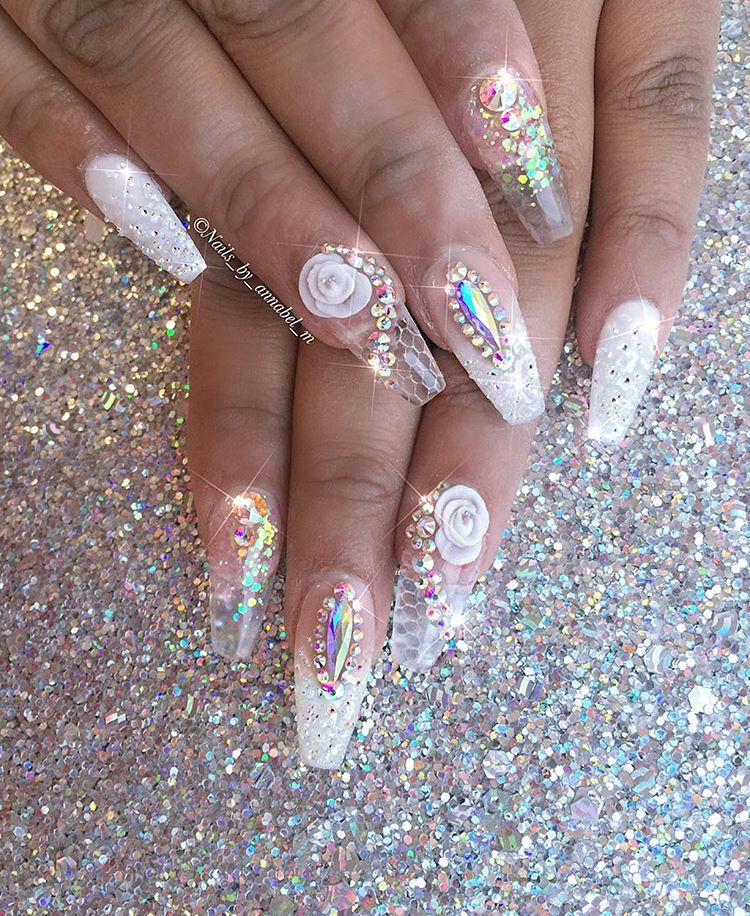 Lover Of Everything That Sparkles Facebook Nails By Annabel