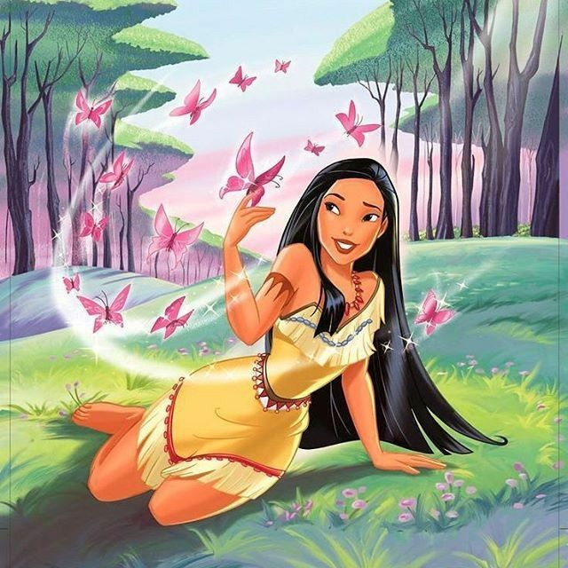 Pocahontas 🦋💕 discovered by florence 🌹 on We Heart It