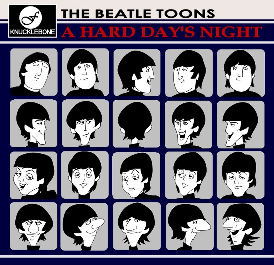 The Beatles TV cartoon show  Look up the episodes on YouTube