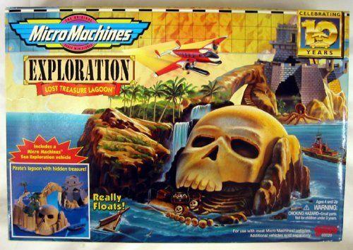 Micro Machines Exploration Sea Lost Treasure Pirate Lagoon