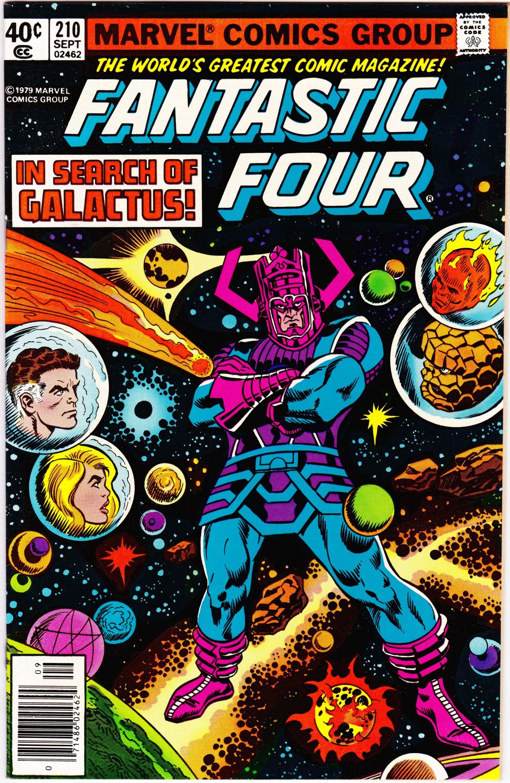Fantastic Four 210 1st Series 1961 September 1979 Marvel Etsy En 2021 Magnificos Comics Antiguos Marvel Comics