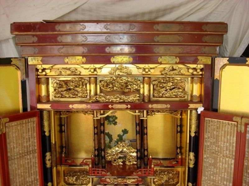 BUDDHIST ALTERS | Antiques.com | Classifieds| Antiques » Antique Furniture  » Antique .